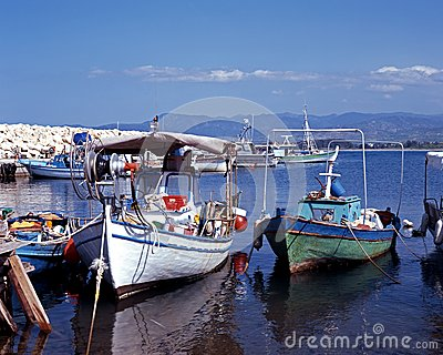 Fishing harbour, Latchi, Cyprus.