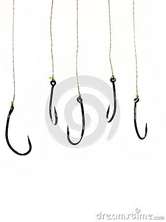 Free Fishing Hooks Stock Photography - 822332