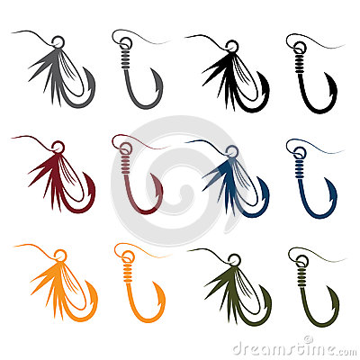 Free Fishing Hooks And Lures Royalty Free Stock Photo - 60288155