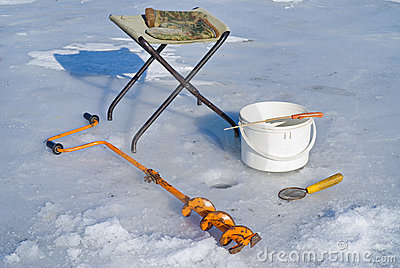 Fishing on ice (equipment) 4