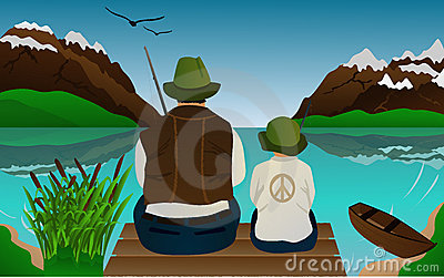 Fishing lessons