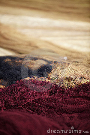 Free Fishing Net Royalty Free Stock Photography - 16743417
