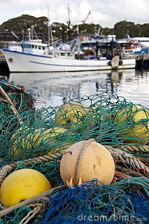 Free Fishing Nets Royalty Free Stock Images - 14161129