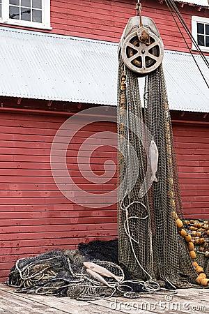 Free Fishing Nets Royalty Free Stock Photo - 32894865