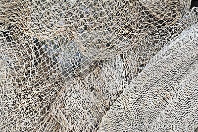 Fishing nets  maintenance