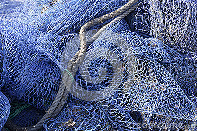 Fishing nets on Mallorca