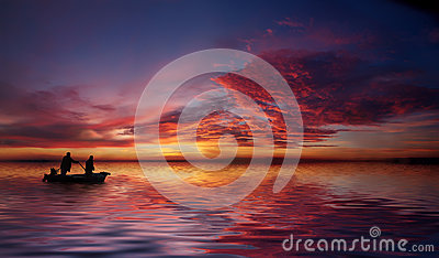 Into the fishing night