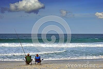 Fishing pair