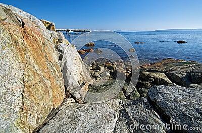 A fishing pier