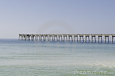 Fishing pier in Pensacola
