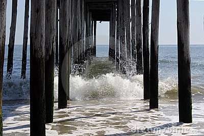 Fishing Pier Splash