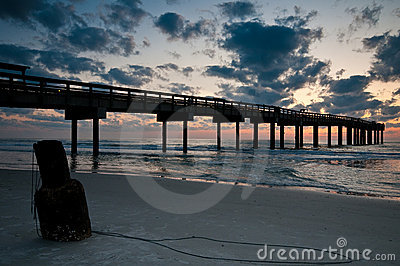 Fishing pier at St. Augustine