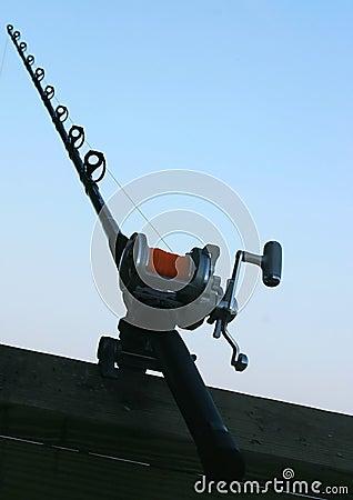 Fishing Pole Abstract