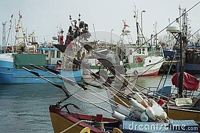 A fishing port
