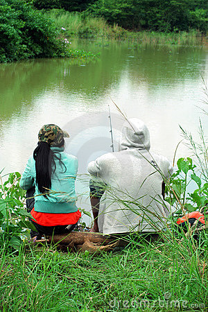 Fishing relaxing in nature royalty free stock photo image 8950465