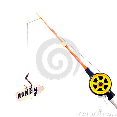 Free Fishing Rod Royalty Free Stock Photos - 34685348