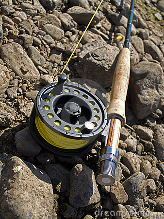 Fishing-rod for fly-fishing
