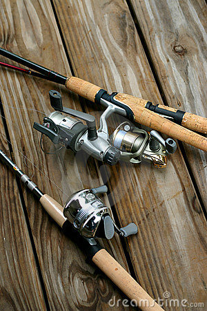 Free Fishing Rods Stock Photos - 903163