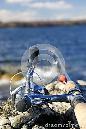 Fishing spring time
