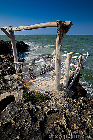Fishing station Puglia Italy