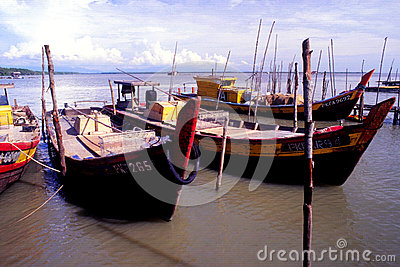 The Fishing Village Editorial Stock Photo
