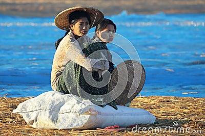 Fishing Village at Dawn - Ngapali Beach - Myanmar (Burma) Editorial Image