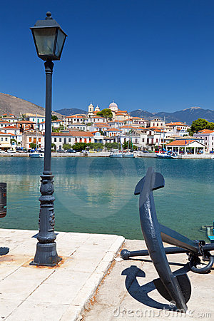 Fishing village of Galaxidi in Greece