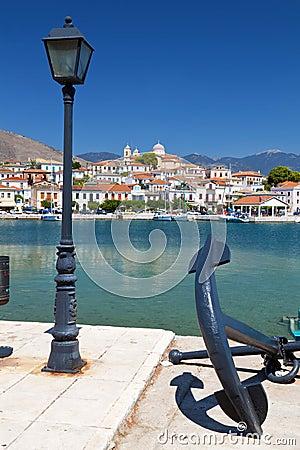 Fishing village of Galaxidi in Greece