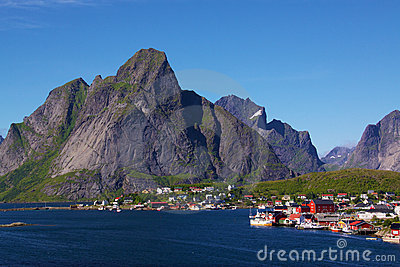 Fishing Village on Lofoten