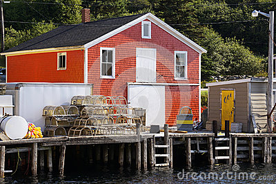 Fishing Village of Northwest Cove, Nova Scotia