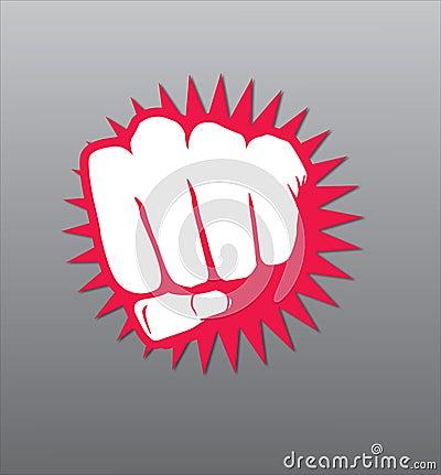 Free Fist Illustration Royalty Free Stock Photography - 7004187