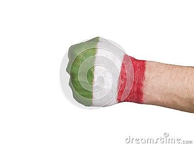 Fist Italian Flag