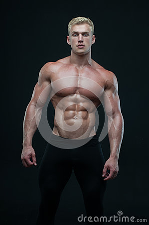 Free Fit Male Model Stock Photo - 97728310