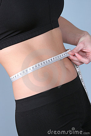 Free Fit - Measuring Waist With Metric Stock Images - 317494