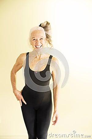 Fit Senior Woman