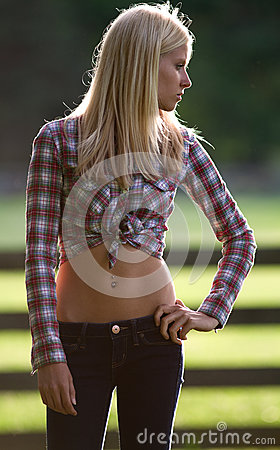 Free Fit Teenage Model Outdoors Royalty Free Stock Photo - 25280585