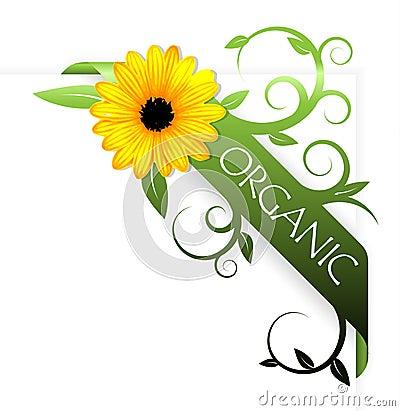 Fita para o produto orgânico