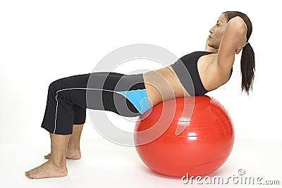 Fitball Crunch 2