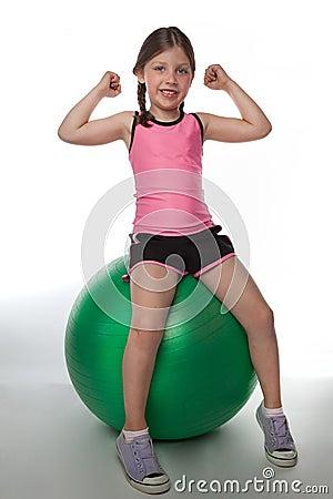 Fitball Girl