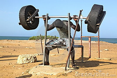 Fitness in Africa Editorial Stock Photo