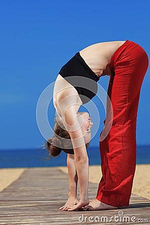 Fitness the beach