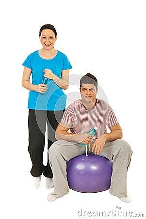 Fitness break