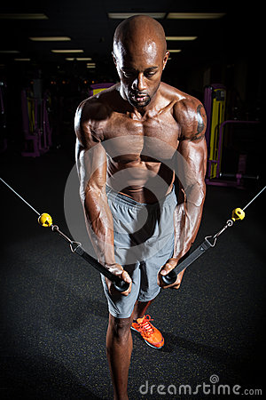 fitness cable machine weight