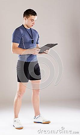 Fitness coach