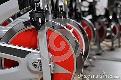 Fitness cycle wheel