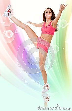 Free Fitness Design Royalty Free Stock Photos - 8037478
