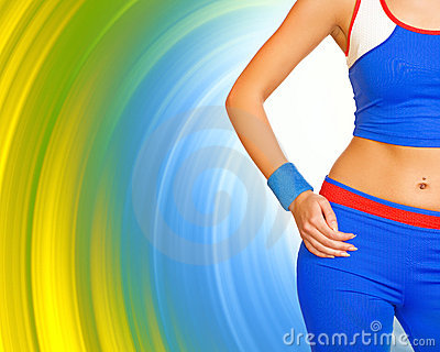 Fitness gir s body