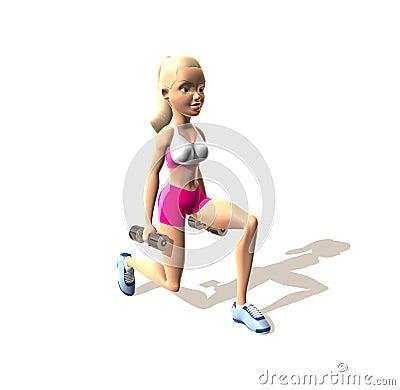 Fitness girl : Legs and Butt