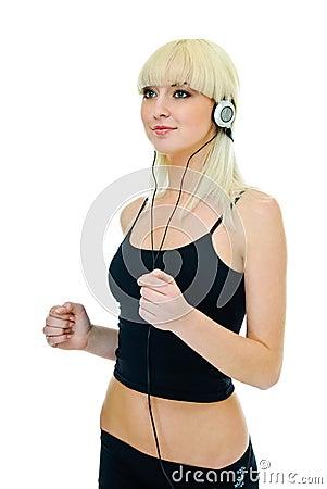 Fitness girl music