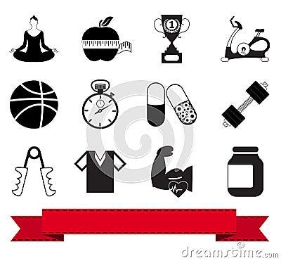 Fitness icon 1